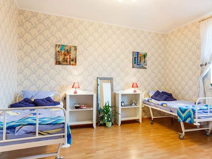 пансионат для лежачих больных в москве и области